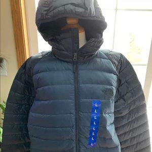 NWT North Face Trevail Men's Hoodie Jacket BLUE